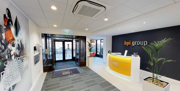 RPC BPI reception and entrance