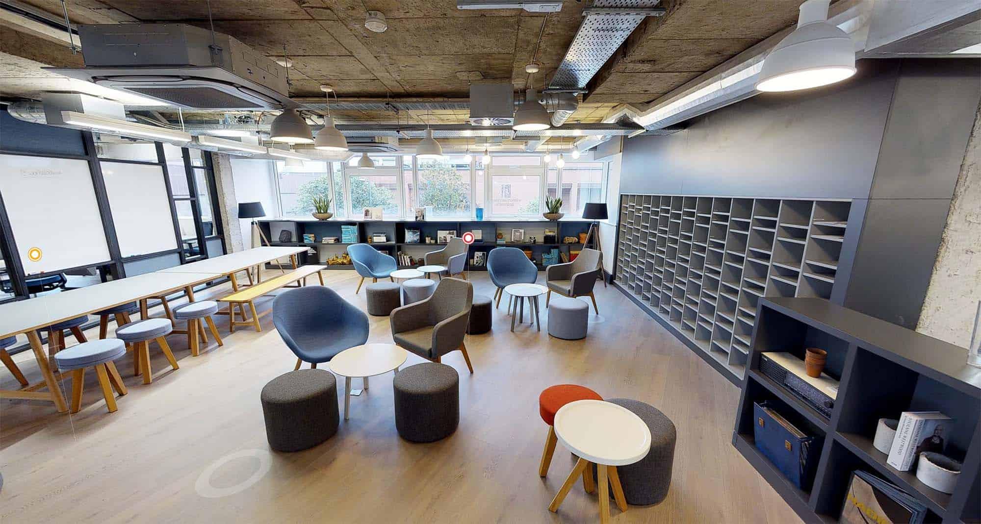Clockwork hub / meeting area